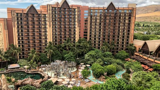 Aulani Resort on Oahu